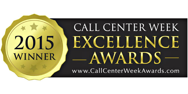 2015 Call Center Week Excellence Awards